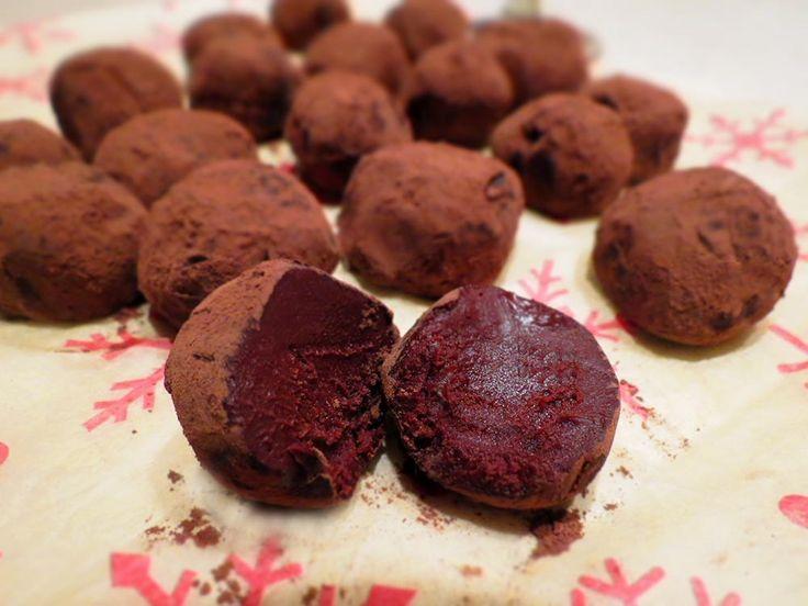 whiskey chocolate truffles