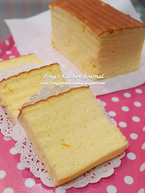 Fong's Kitchen Journal: Orange Ogura Cake