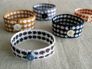 Make these fun DIY Colorful Crocheted Bracelets for yourself or a friend. Beautiful thread colors are worked in single, double and half double crochet. Work up a new bracelet and flaunt it around town; they're great crochet accessories.