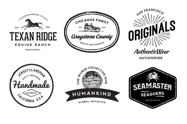 Very Vintage Vector Kit + 14 Logos by Nicky Laatz on @creativemarket