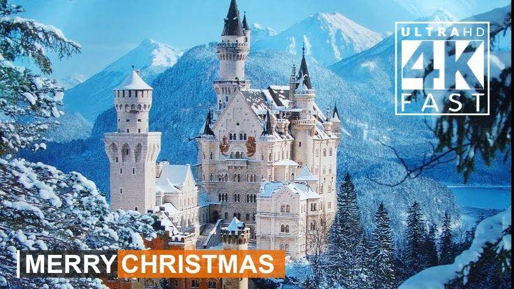 4K   Christmas - Around the World   Christmas Songs 2017