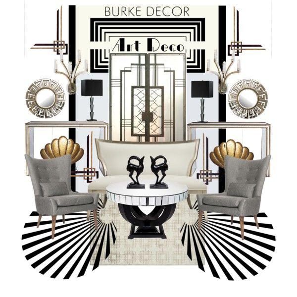 """""""Art Deco Set"""" by szaboesz on Polyvore"""