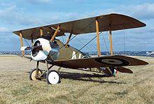 Biplane - Wikipedia, the free encyclopedia.  A sopwith camel reproduction