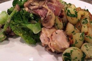 Kip Orloff (Kipfilet met champignon-kaassaus) - Recept | 24Kitchen