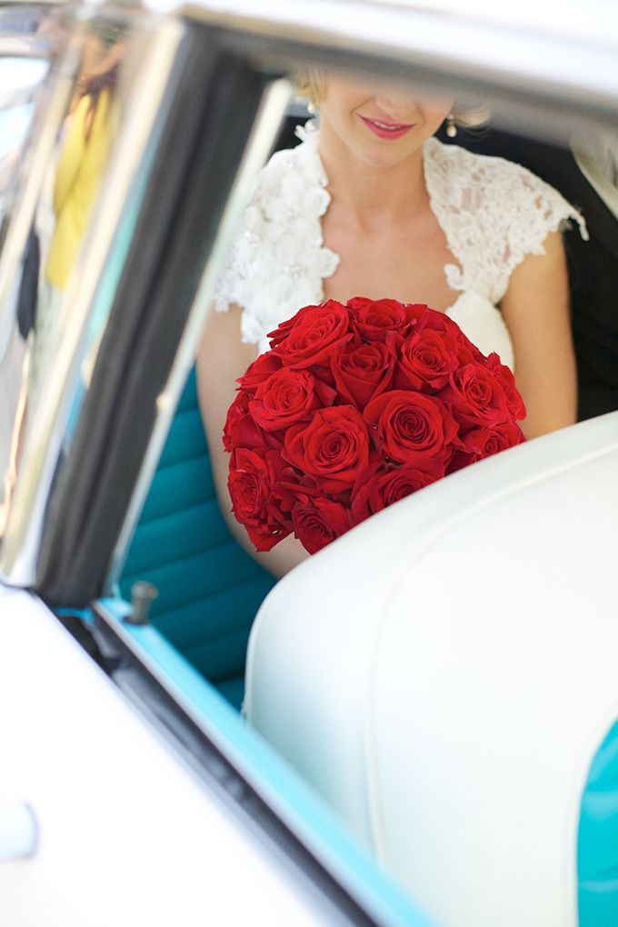 red vintage wedding | Live View Studios