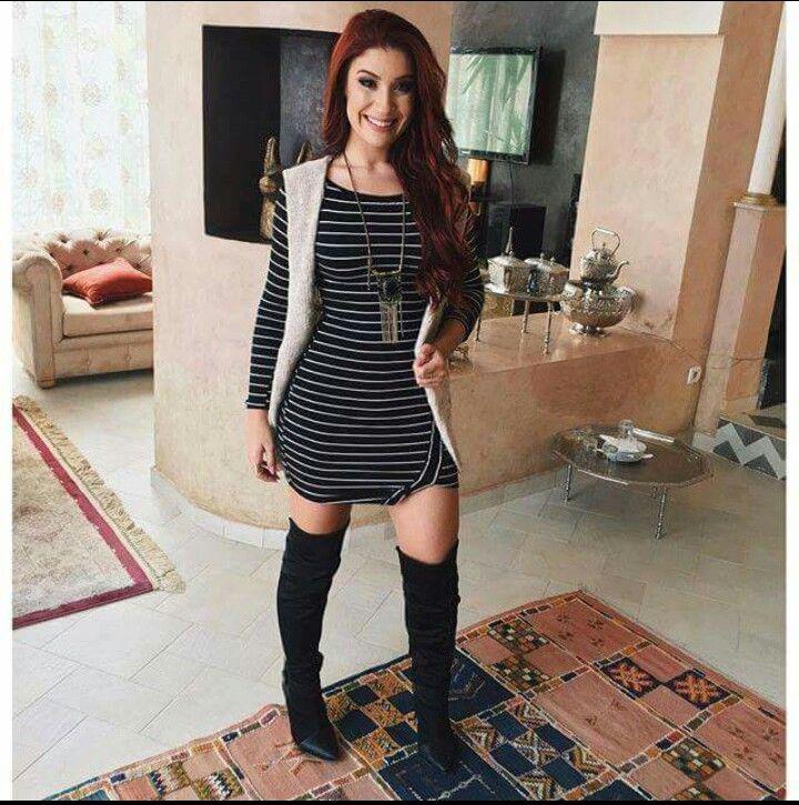 Bianca Andrade Boca Rosa Blog #vestidolistrado #botaovertheknee #colete de…