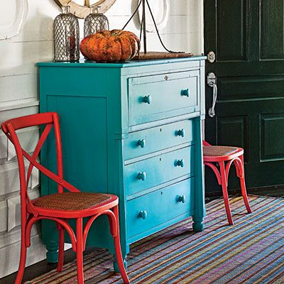Painted Furniture < Smart Cottage Style Home - Southern Living