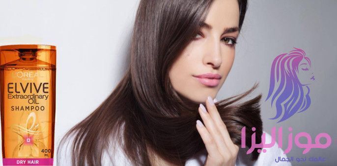 بديل الزيت لوريال وداعا لجفاف الشعر Hair Hair Straightener Shampoo