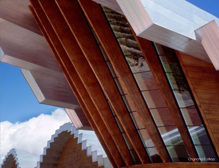 Santiago Calatrava's Ysios Bodegas