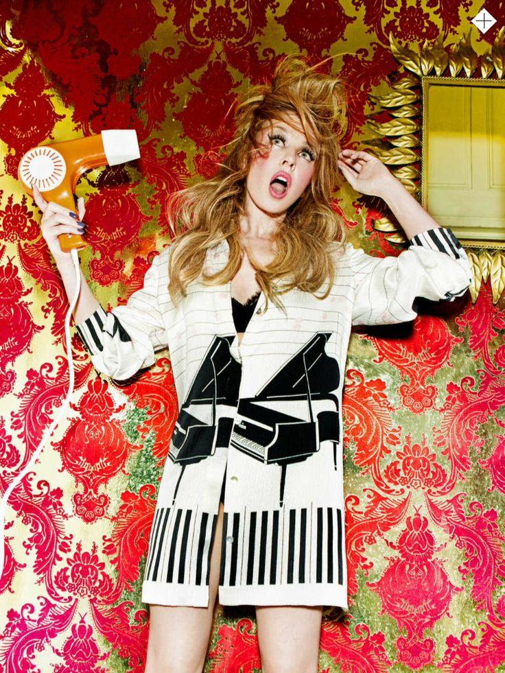 Kylie Minogue for Stylist Magazine 2014 | by Ellen Von Unwerth