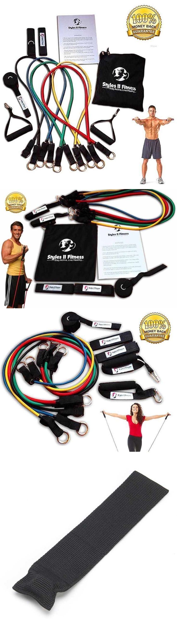Resistance Trainers 79759: New Home Gym Fitness Resistance Tube Exercise Workout Elastic Stretch Band Set -> BUY IT NOW ONLY: $61.33 on eBay!