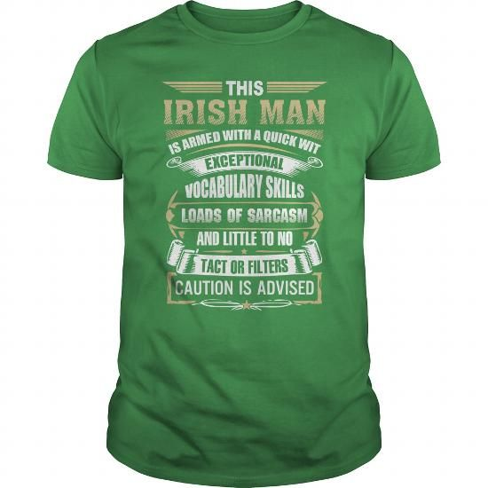 This Irish Man Is Armed With A Quick Wit Exceptional Vocabulary Skills Tshirt #name #QUICK #gift #ideas #Popular #Everything #Videos #Shop #Animals #pets #Architecture #Art #Cars #motorcycles #Celebrities #DIY #crafts #Design #Education #Entertainment #Food #drink #Gardening #Geek #Hair #beauty #Health #fitness #History #Holidays #events #Home decor #Humor #Illustrations #posters #Kids #parenting #Men #Outdoors #Photography #Products #Quotes #Science #nature #Sports #Tattoos #Technology…