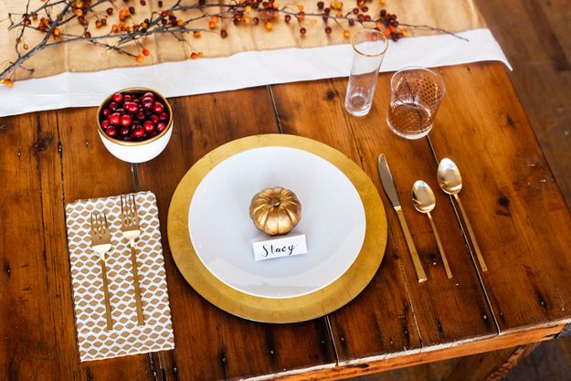 Ideas about thanksgiving table settings on pinterest