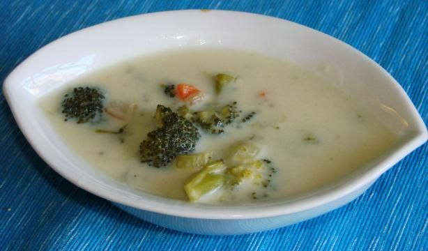 Grammy's Broccoli Soup. Photo by Boomette
