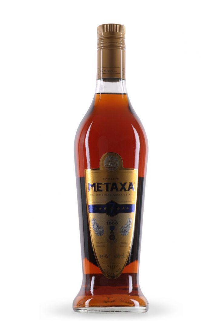 Cognac Metaxa 7 Stele, The Original Greek Spirit (0.7L) - SmartDrinks.ro