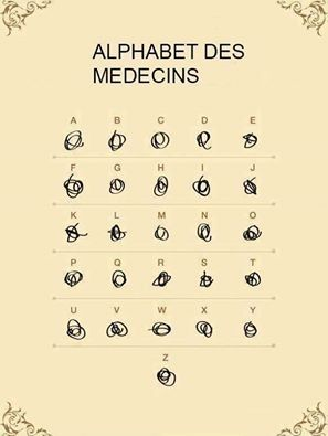 Images Alphabet des medecins Images drôles Photos Travail sur Humour.com