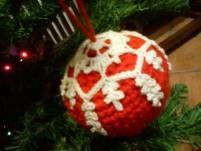 Handmade crochet ornaments
