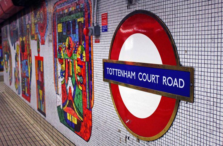 Tottenham Court Rd, London #RegentTweet