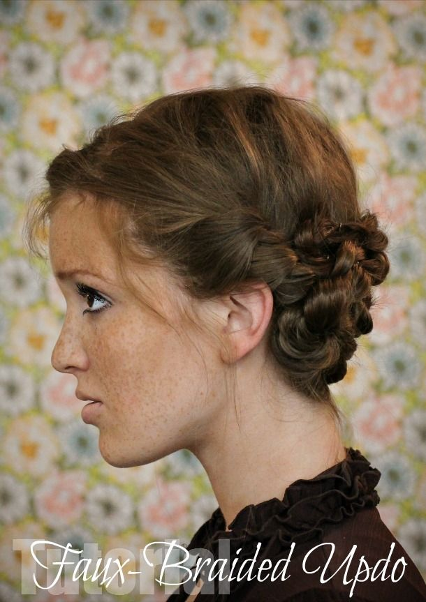 hair styles with beard 1000 ideas about faux braids on updo for 6363