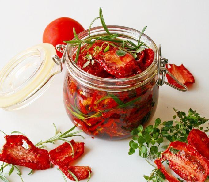 Sušené paradajky
