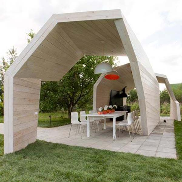 Contemporary Outdoor Kitchen: 17 Best Ideas About Bbq Gazebo On Pinterest