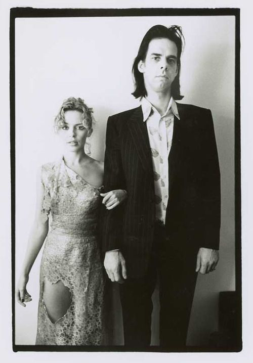 Kylie Minogue & Nick Cave. Marvelous portrait of 2 of a kind