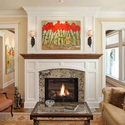 Houzz Fireplace Mantels IDI Design