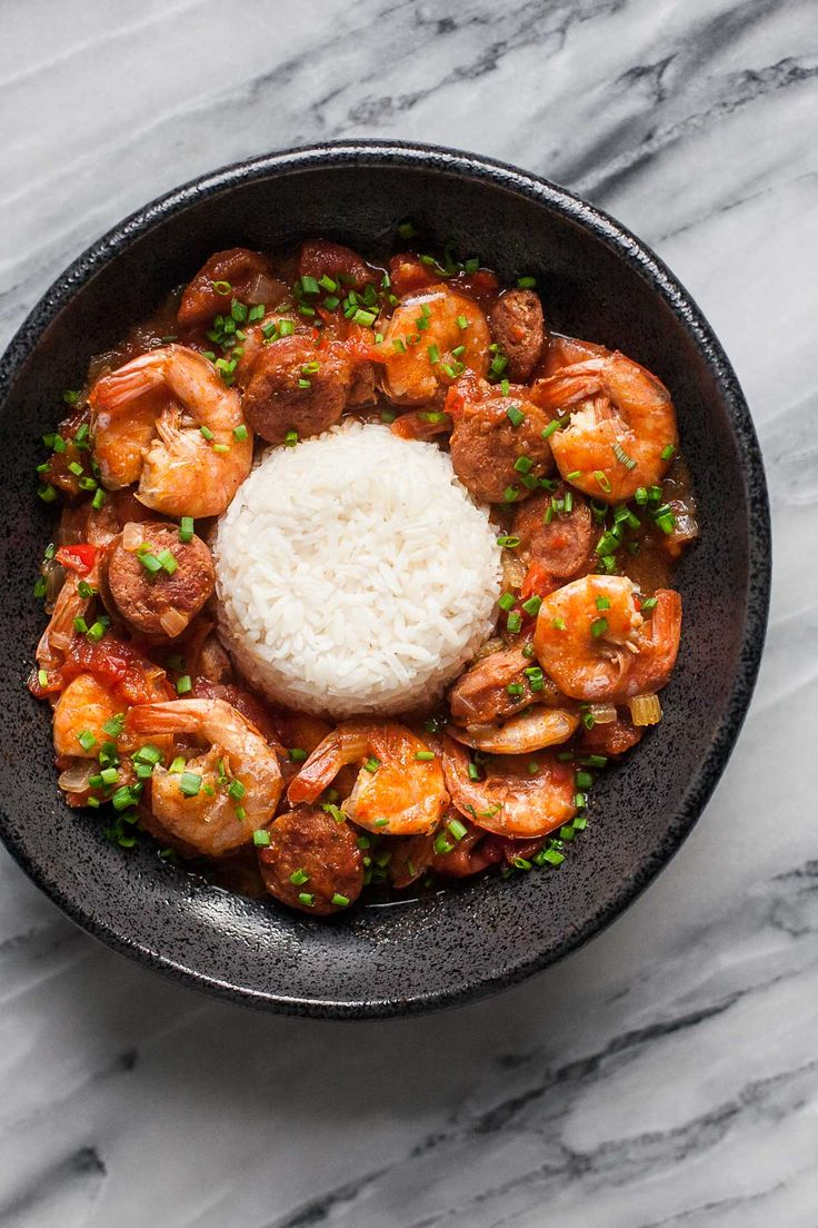Shrimp And Sausage Gumbo Instant Pot Or Not Recipe Shrimp Sausage Gumbo Sausage Gumbo
