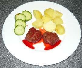 Karbanátky s červenou řepou, recept na karbanátky s červenou řepou