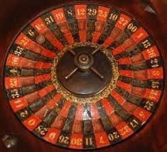 Vintage Roulette Wheel