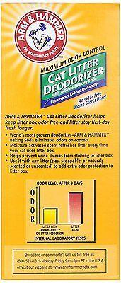 Cat Litter Deodorizer With Baking Soda