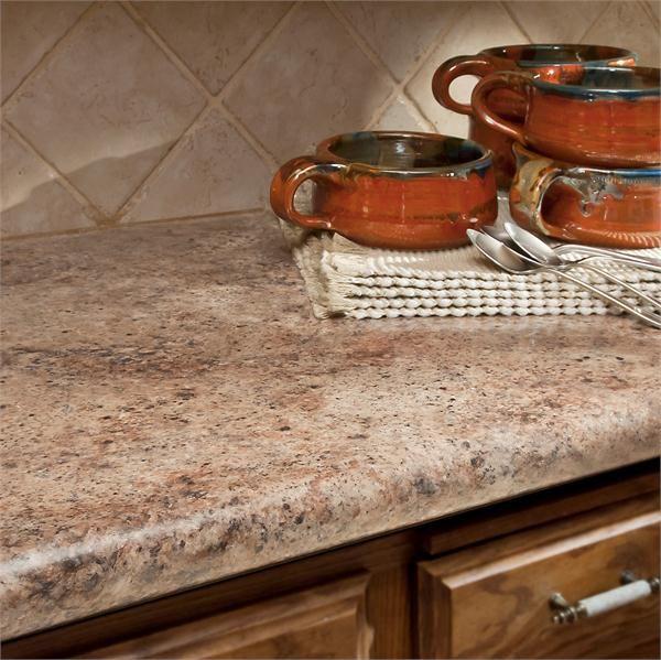 Madura Garnet Kitchen Island Countertop From Wilsonart @Wilsonart LLC