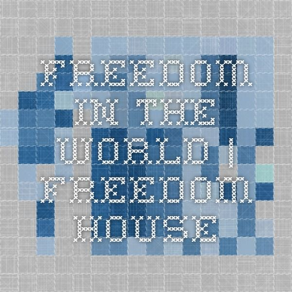 Freedom in the World | Freedom House
