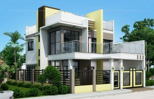 Home Design Plan 10x15m With 4 Bedrooms Home Ideassearch Minecraft House Designs Barn Homes Floor Plans 2 Storey House Design