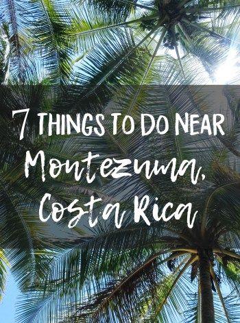 7 Things To Do Near Montezuma, Costa Rica • Young Wayfarer