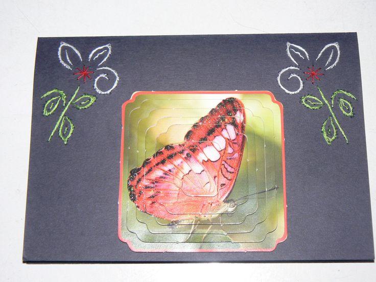 Vlinder kaart
