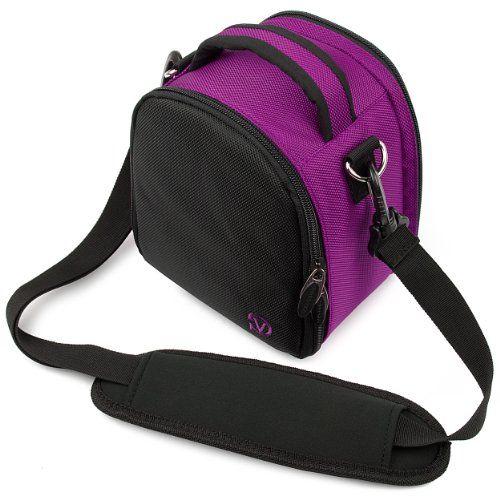 $26.95 - VG Plum Purple Laurel DSLR Camera Carrying Bag with Removable Shoulder Strap for Canon PowerShot SX50 HS Digital SLR Camera VangoddyTM,http://www.amazon.com/dp/B009TDGFJO/ref=cm_sw_r_pi_dp_cWHKsb18MSP2T40K