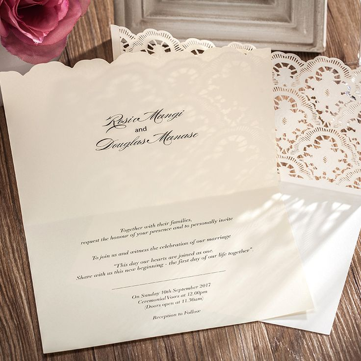 wedding invitations response cards