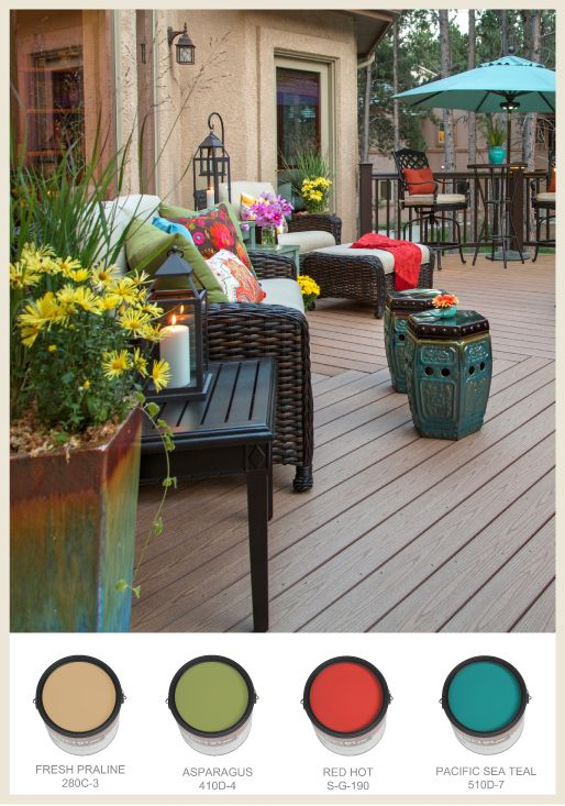 Find This Pin And More On Color Ideas For Decks, Porches And Other Outdoor  Spaces By Archadeckstl.