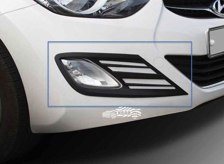 Hyundai ELANTRA 2011-2015 Fog Lamp Cover Molding Black Matt Kit 2p/ 1set MD # We can provide you on eBay at http://stores.ebay.com/gibson-brown/Elantra-2011-2015-MD-/_i.html?_fsub=14854798018