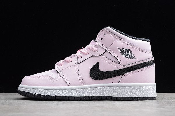 "2018 Air Jordan 1 Mid GS ""Pink Foam"