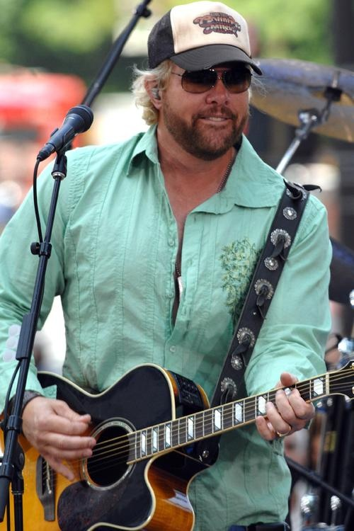 Toby Keith - I wish he would quit calling me!  ha!