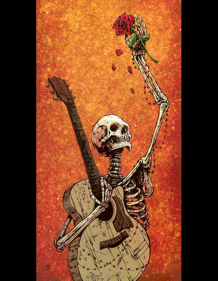 Until the Final Note by Day of the Dead Artist David Lozeau