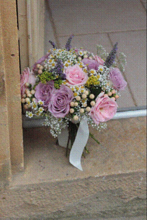 bouquet mariée violine lavande champetre,Fleuriste perigueux Fleurs de Famille bonvoisin perigueux mariage fleuriste livraison