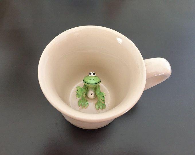 Kids Mug With Surprise Animal Inside
