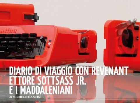""".@minimaetmoralia il mio """"Diario di viaggio con revenant: Ettore Sottsass jr. e i madaleniani"""": a suo modo un """"viaggio in Italia""""."""