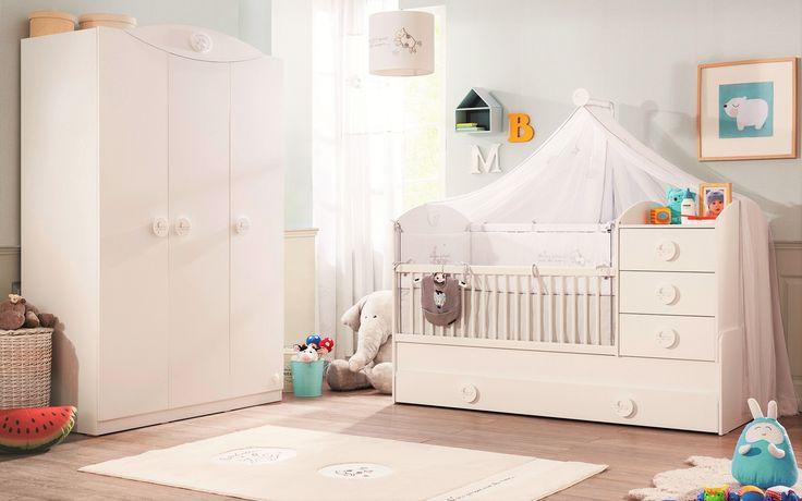 Sachsa klamboe babykamer meegroeibed idee babykamer babybed compleet