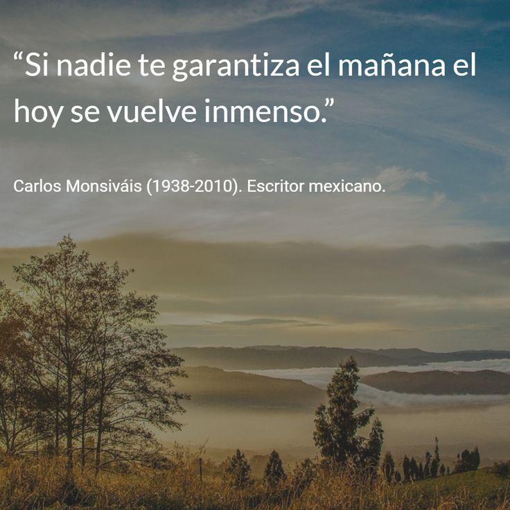 Carlos Monsiváis (1938-2010). Escritor mexicano. #citas #frases