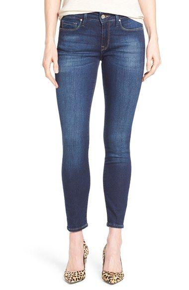 Mavi Jeans 'Alexa' Stretch Ankle Skinny Jeans (Dark Brushed Shanti)