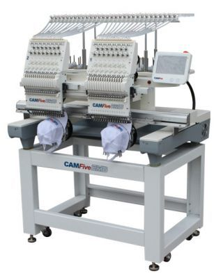 CAMFive EMB HT1502 Double Head Commercial Embroidery machine